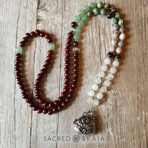 Custom mala necklace
