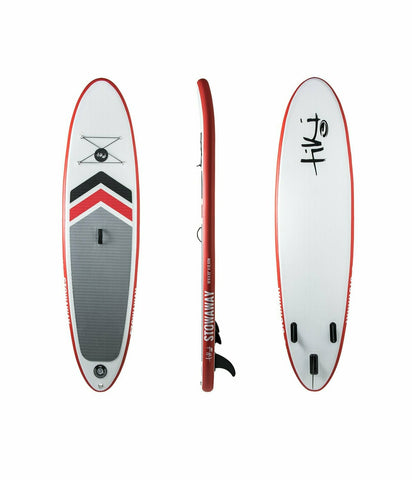 Tiki 10'6 Stowaway Classic Inflatable SUP Pack + Paddle