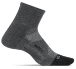Feetures Elite Max Cushion Quarter Running Socks