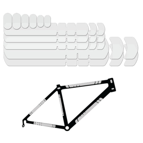 Frame Protector Kit - CLEAR MATTE