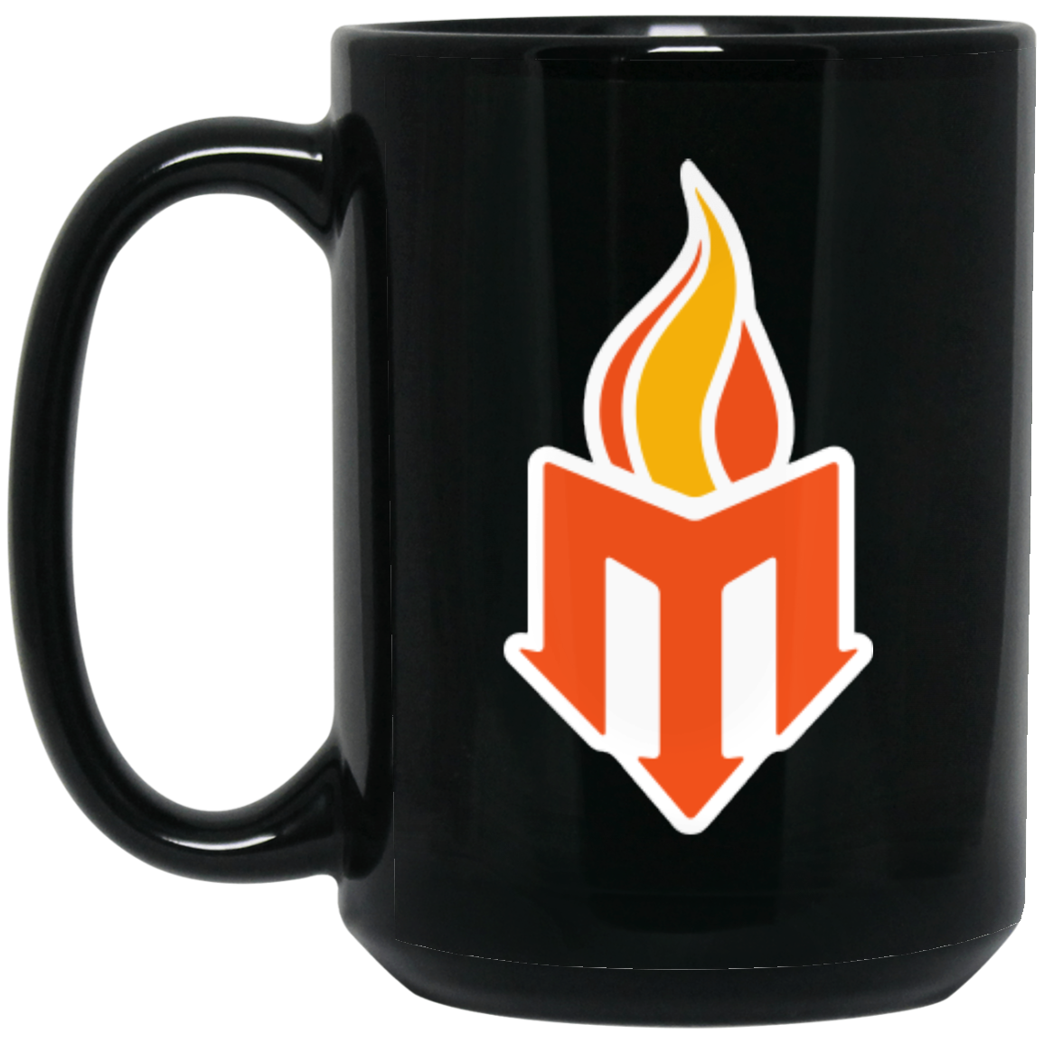 BM15OZ 15 oz. Black Mug - moraydivelights