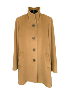 Camel Wool & Angora Jacket