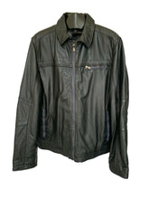 Load image into Gallery viewer, Men's Black Leather Jacket
