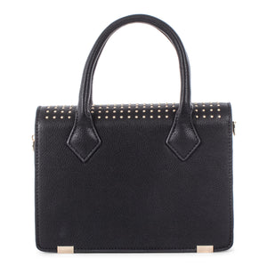 Black Celine Dion Minor Gold Stud Bag
