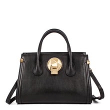 Load image into Gallery viewer, Black Celine Dion Octave Satchel Bag