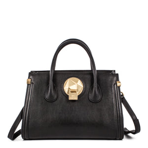 Black Celine Dion Octave Satchel Bag