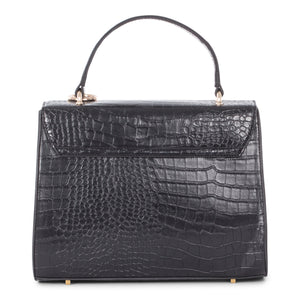 Black Celine Dion Sonata Handle Bag