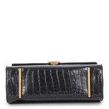 Load image into Gallery viewer, Black Celine Dion Sonata Handle Bag