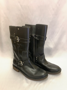 Ladies Black Gillespie Leather Boot