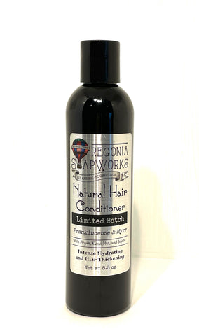 Small Batch Natural Hair Conditioner - Frankincense & Myrrh