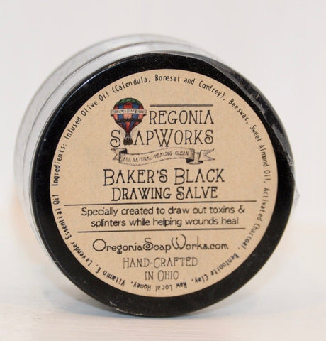 Baker's Black Drawing Salve