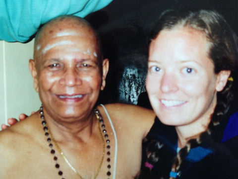 Smelling Jasmine Flowers and Pushing Buttons, In Memory of Sri. K. Pattabhi Jois - By Fiona Stang