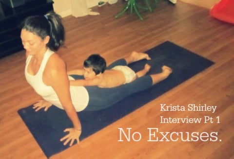 Too Busy To Do Yoga? Then watch this. Krista Shirley Interview Part 1