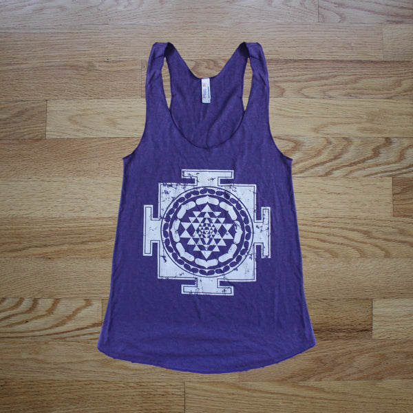 Sri Yantra Racerback Tank - Multiple Colors Click To See!