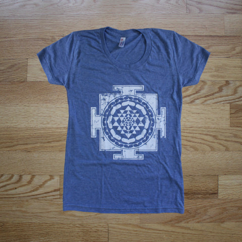 Sri Yantra Women's Track Shirt