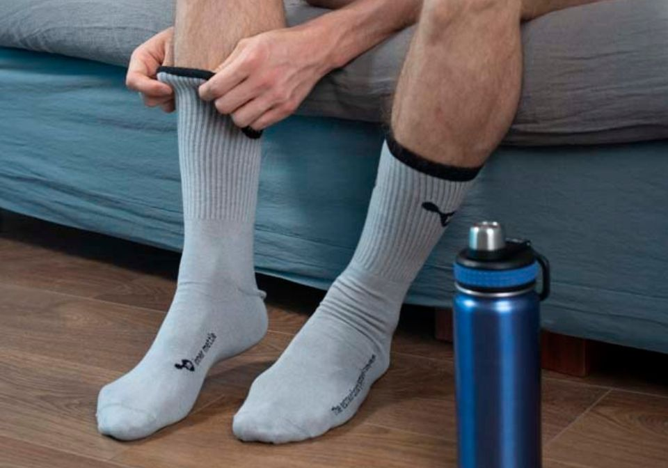 Why do you need silver socks?