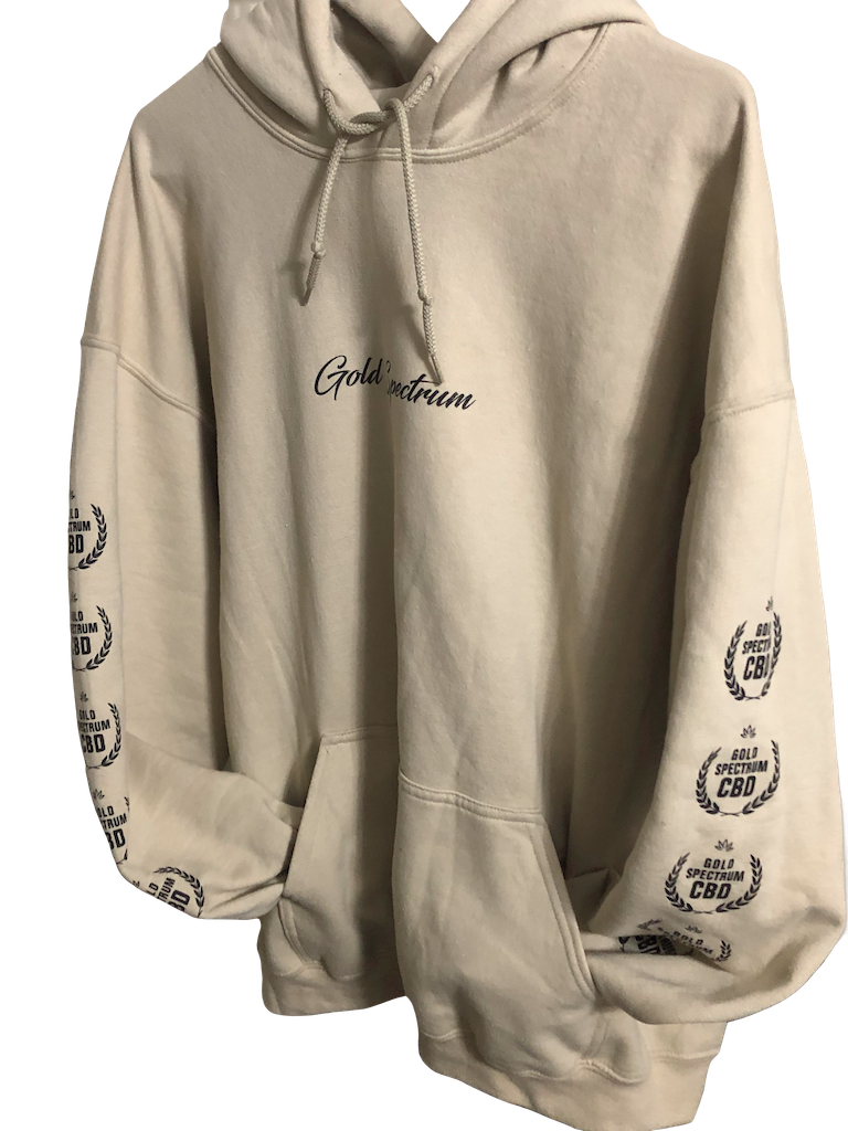 Gold Spectrum Hoodie - Gold Spectrum CBD