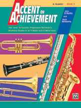Accent On Achievement B Flat Trumpet ... CLICK FOR MORE LEVELS