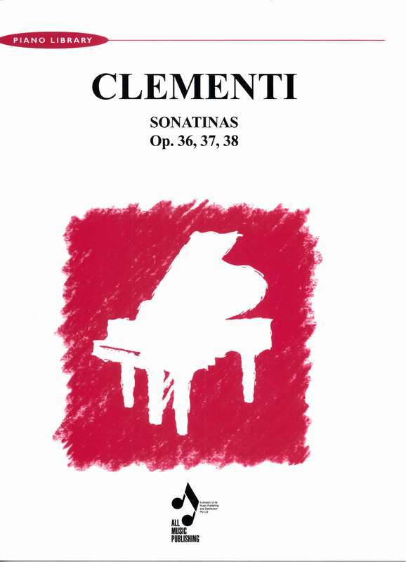 Sonatinas Op. 36,37,38 - Clementi