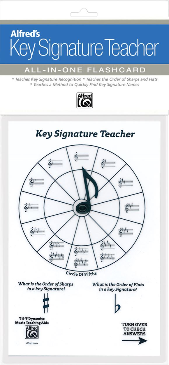 Alfred's Key Signature Teacher All in One Flashcard