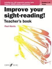 Improve Your Sight Reading Piano Teachers Book - Paul Harris