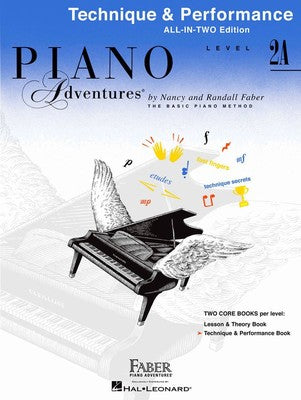 Piano Adventures All In Two: Level 2A