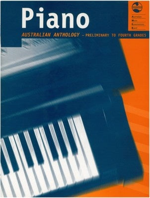 AMEB Australian Piano Anthology - Preliminary to Fourth Grade