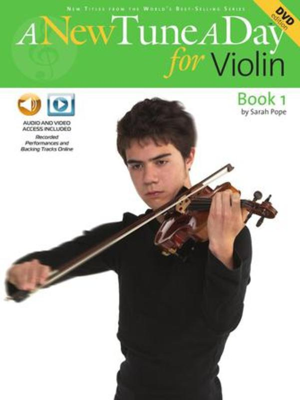 A New Tune A Day for Violin Book 1 with DVD