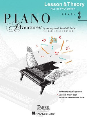 Piano Adventures All In Two: Level 3