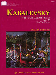 Kabalevsky : Twenty-Four Little Pieces Op. 39