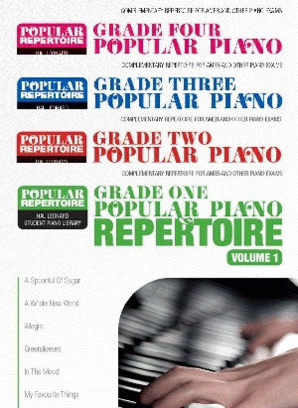 Popular Piano Repertoire Teacher's Pack