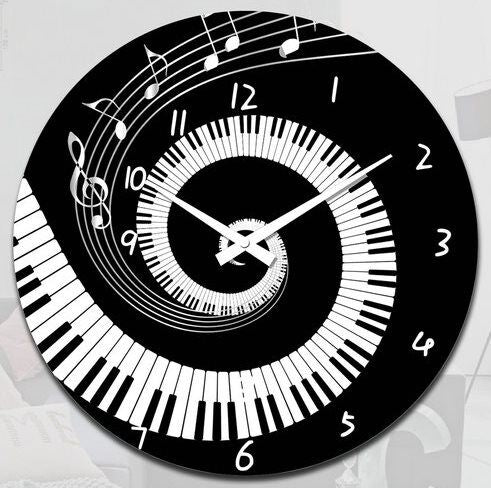 Music/Keyboard Clock