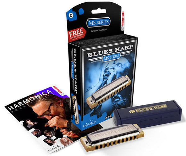 Hohner MS Series Blues Harp Harmonica in the Key of C The Legendary Harp For Blues!