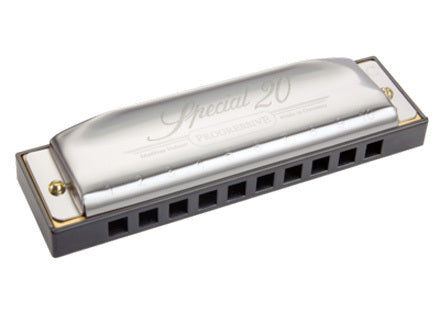 Hohner Progressive Series Special 20 Harmonica in the Key of C The Workhorse Harmonica For Over 40 Years!