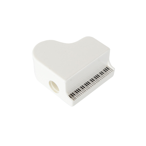 Pencil Sharpener Grand Piano White