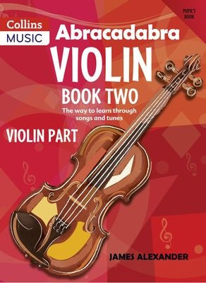 Abracadabra Violin Book 1 with 2CDs Included 3RD Edition