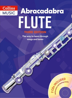 Abracadabra Flute Book 1 with 2CDs Included 3RD Edition