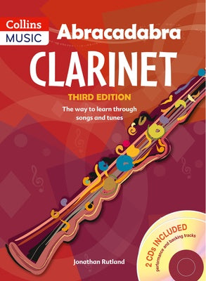 Abracadabra Clarinet Book 1 with 2CDs Included 3RD Edition