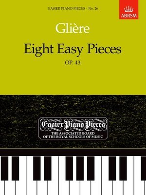 Gliere Eight Easy Pieces Op. 43