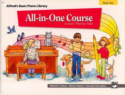 Alfred's Basic Piano Course : All In One Course