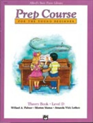 Alfred's Basic Piano Library: Prep Course D