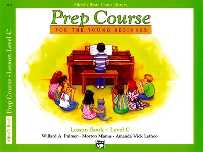 Alfred's Basic Piano Library: Prep Course C