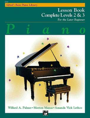 Alfred's Basic Piano Course: Complete 2/3... CLICK FOR MORE TITLES