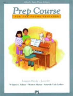 Alfred's Basic Piano Library: Prep Course F