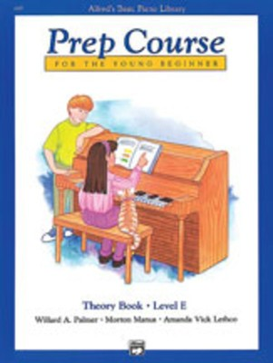 Alfred's Basic Piano Library: Prep Course E
