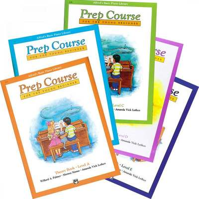 Alfred's Basic Piano Library: Prep Course A... CLICK FOR MORE TITLES