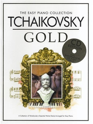 Tchaikovsky : Gold with CD Easy Piano