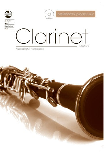 AMEB Clarinet Recording & Handbook Series 3 - Preliminary, Grade 1 and Grade 2