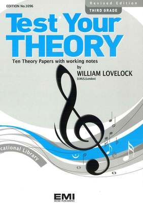 Test Your Theory - William Lovelock ... CLICK FOR MORE GRADES