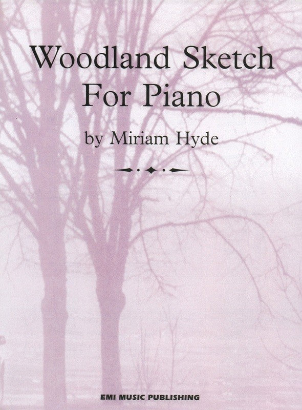 Woodland Sketch - Miriam Hyde
